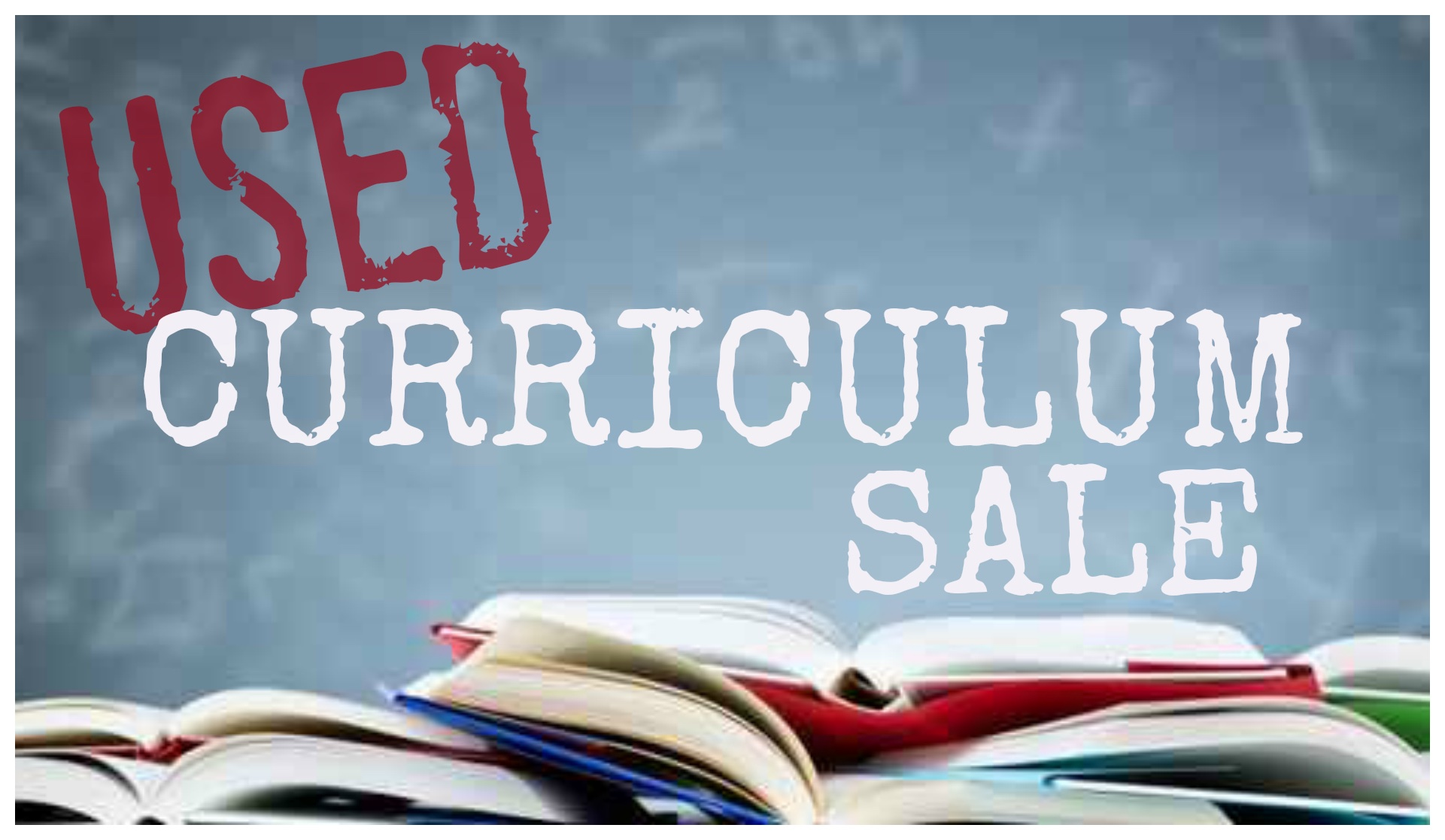 HEART Academy Used Curriculum Sale